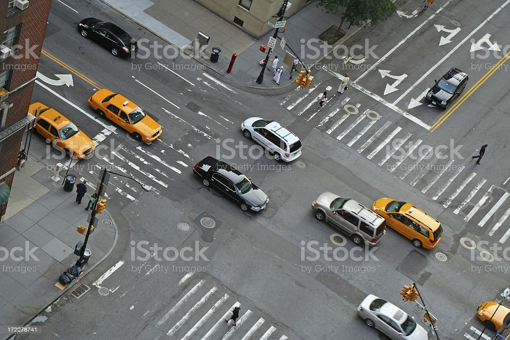 New York traffic # 1 stock photo