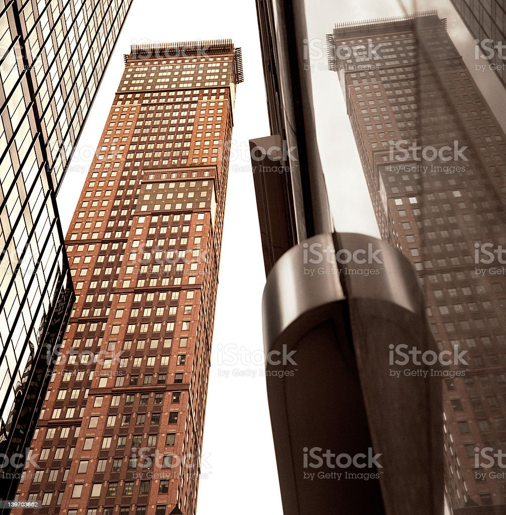 New York, Trump Building stock photo
