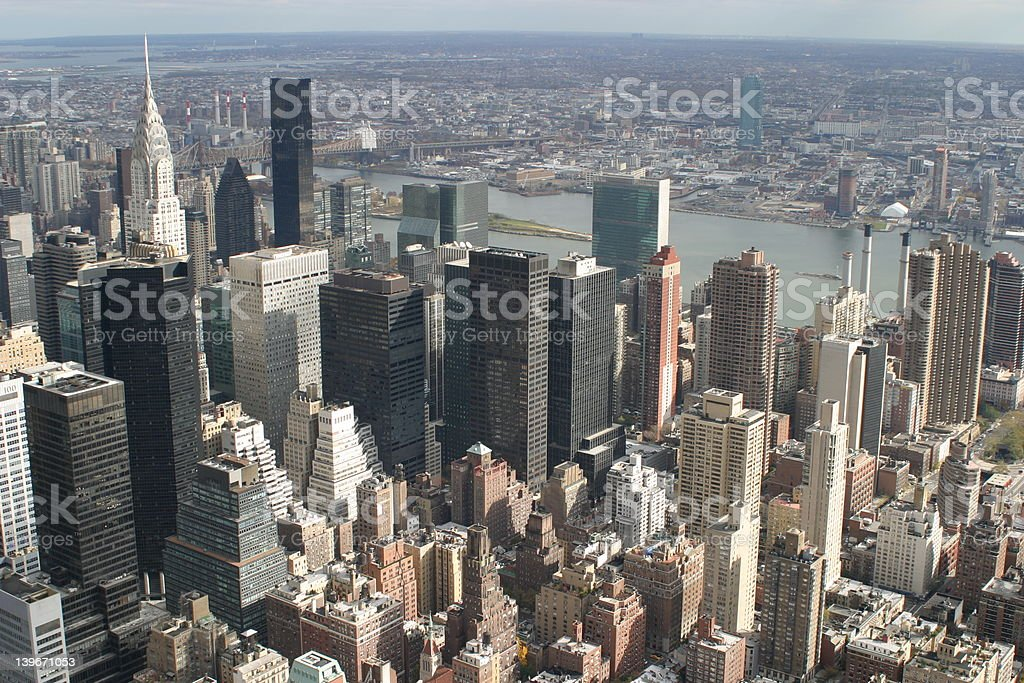 New york view 01 royalty-free stock photo