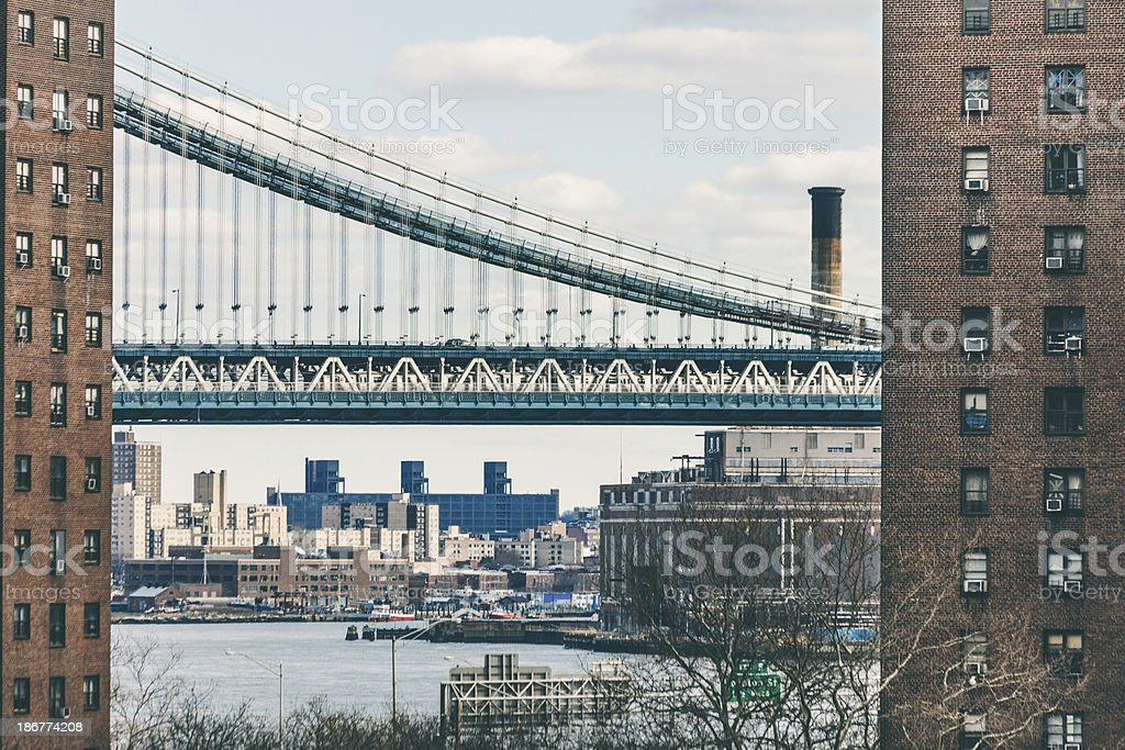 New York view. royalty-free stock photo