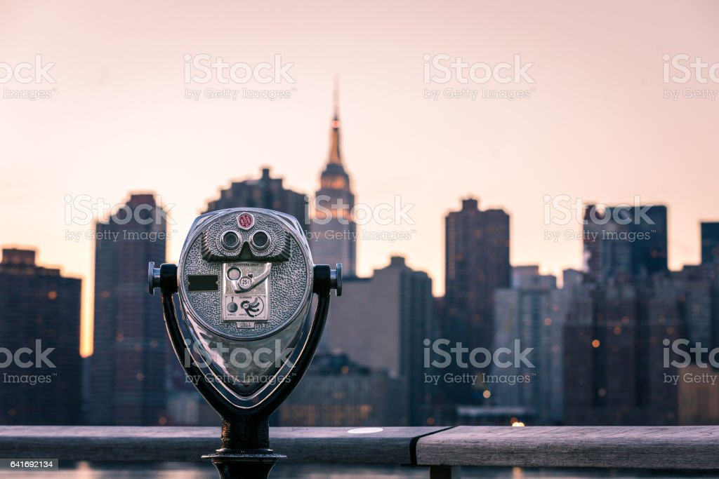 New York View stock photo