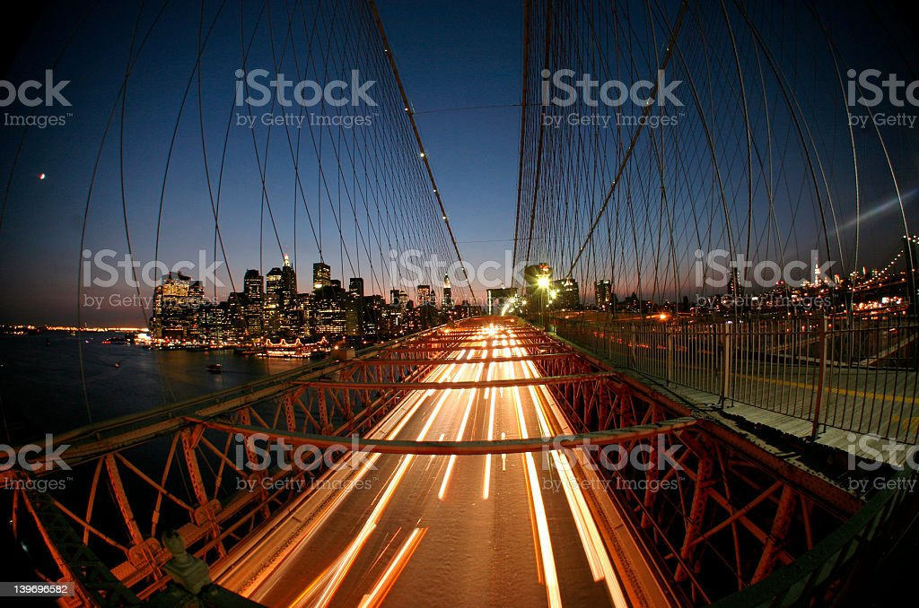 New York,Brooklyn bridge royalty-free stock photo