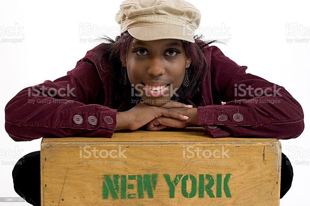 New Yorker stock photo