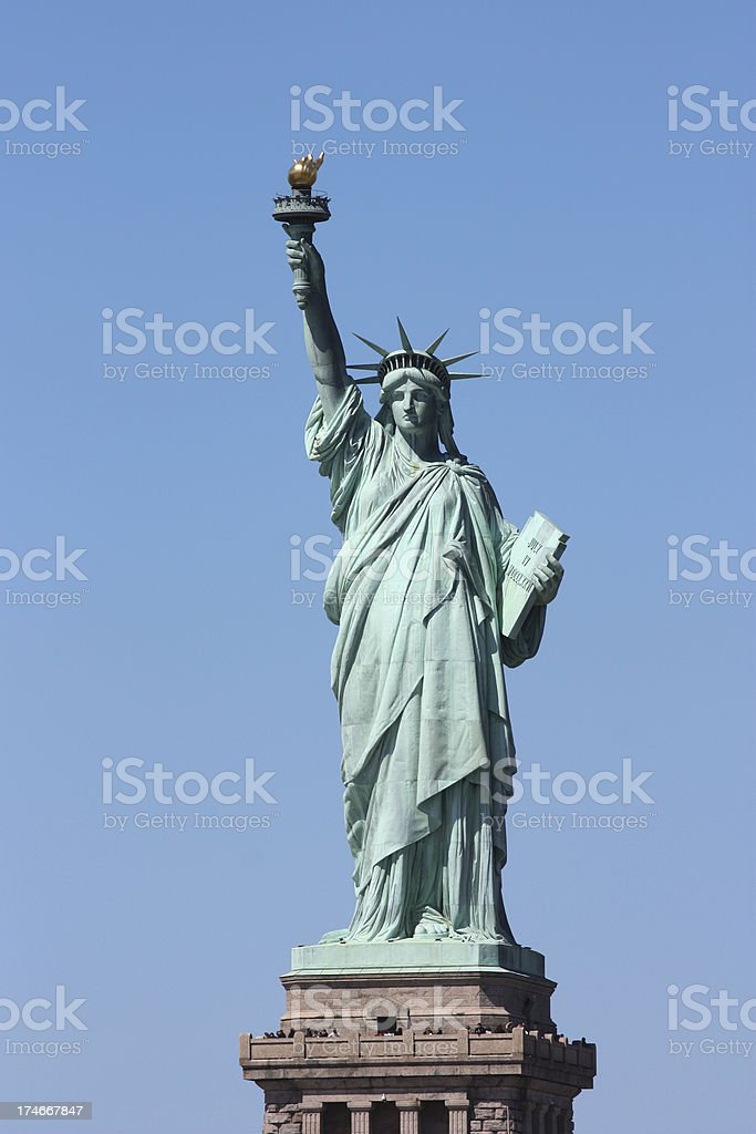 New York's Statue of Liberty stock photo