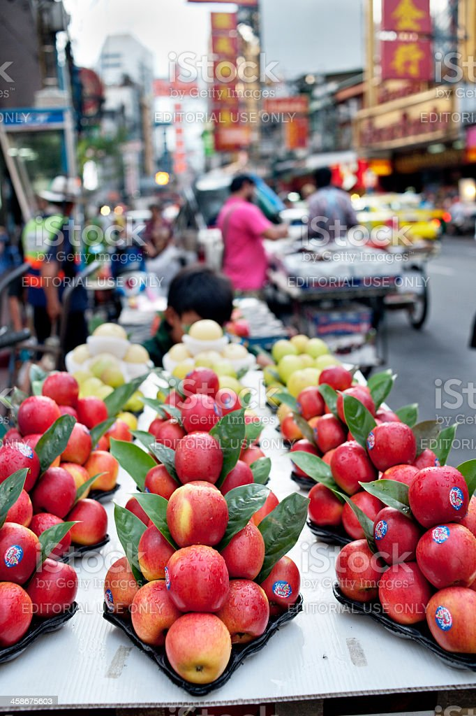 New Zealand Apples stock photo