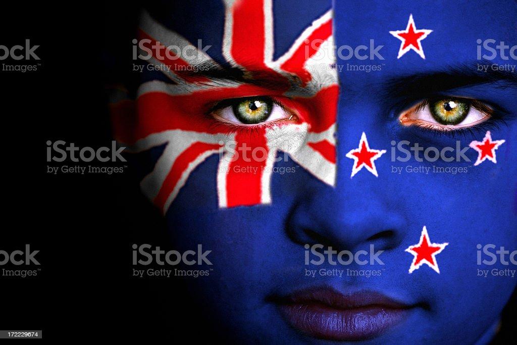 New Zealand boy stock photo