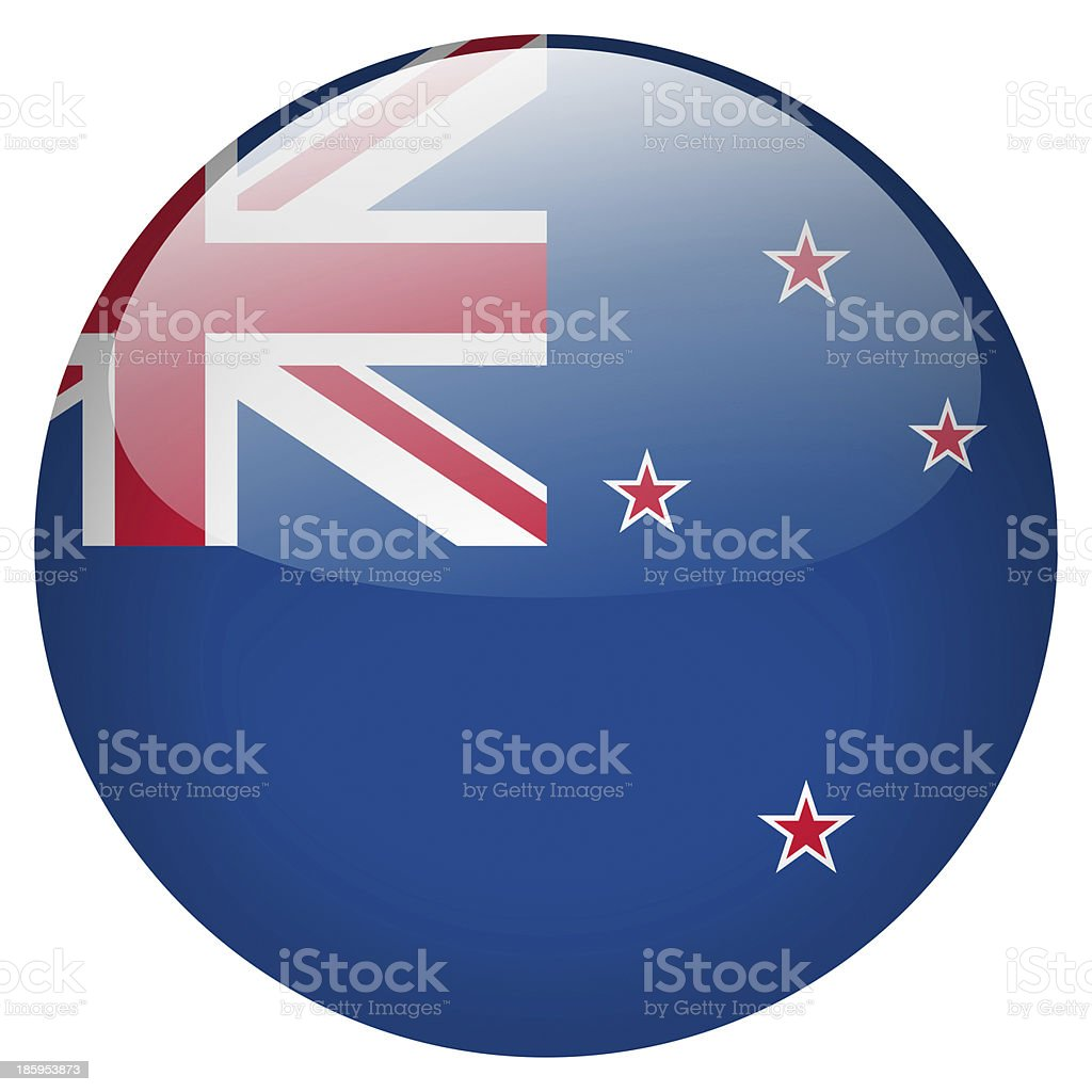 new zealand button stock photo