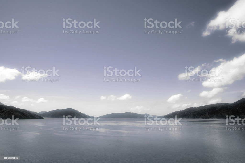 New Zealand Coast stock photo