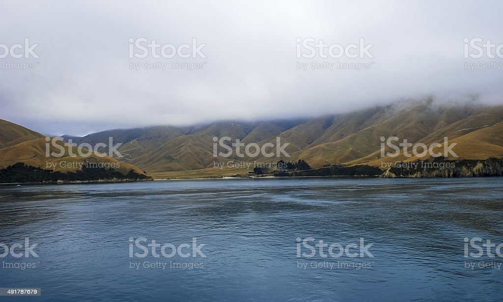 New Zealand Coastline stock photo