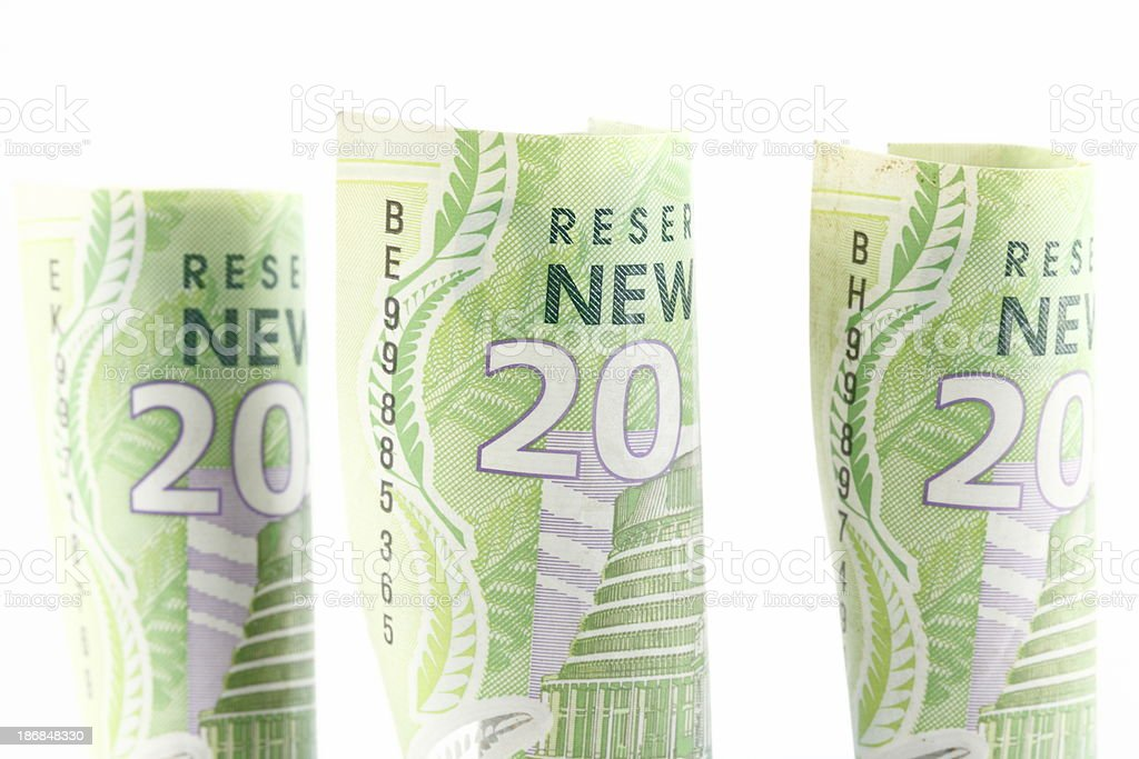 New Zealand Currency stock photo