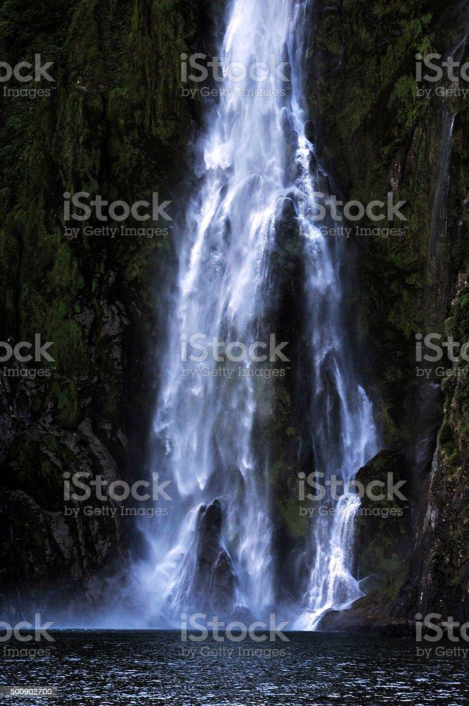 New Zealand Fiordland stock photo
