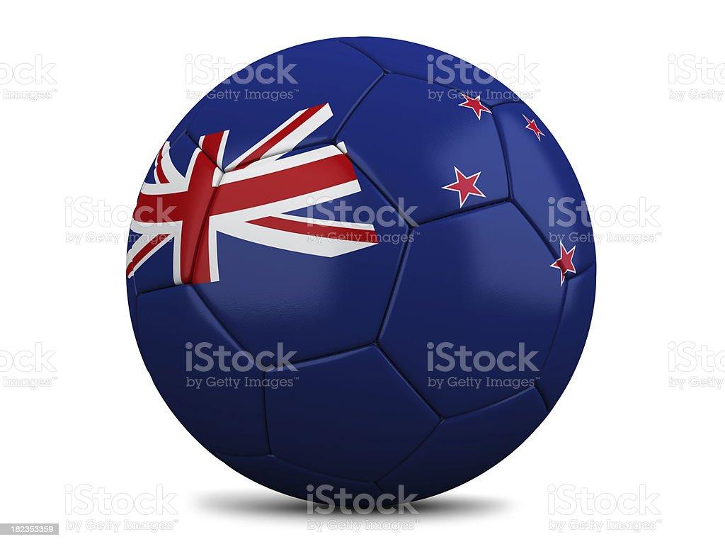 New Zealand Football royalty-free stock photo