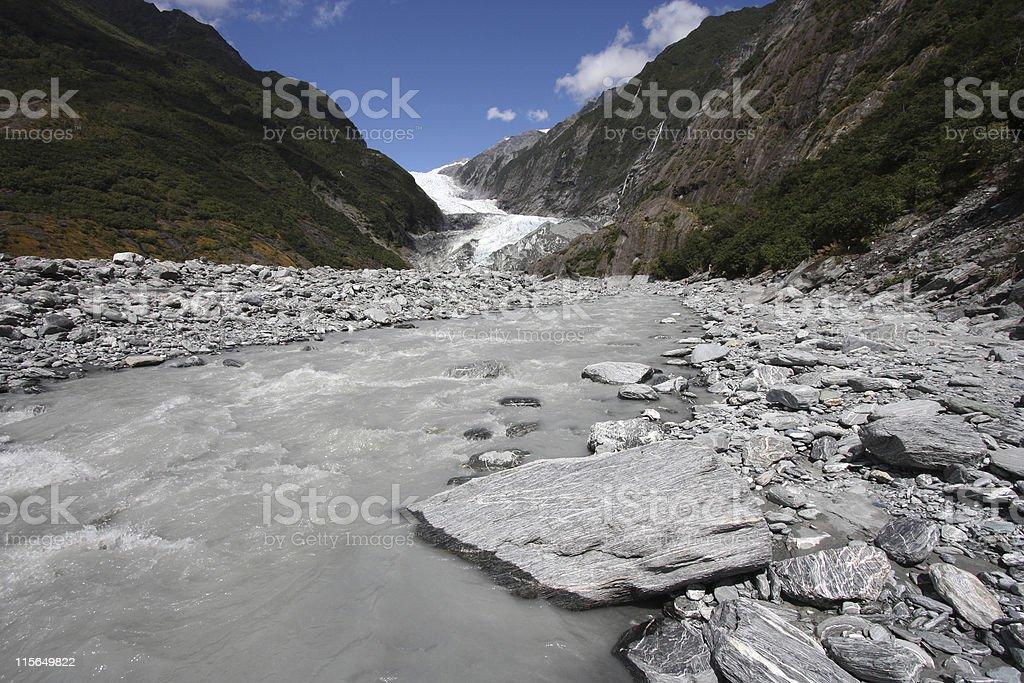 New Zealand landscape royalty-free stock photo
