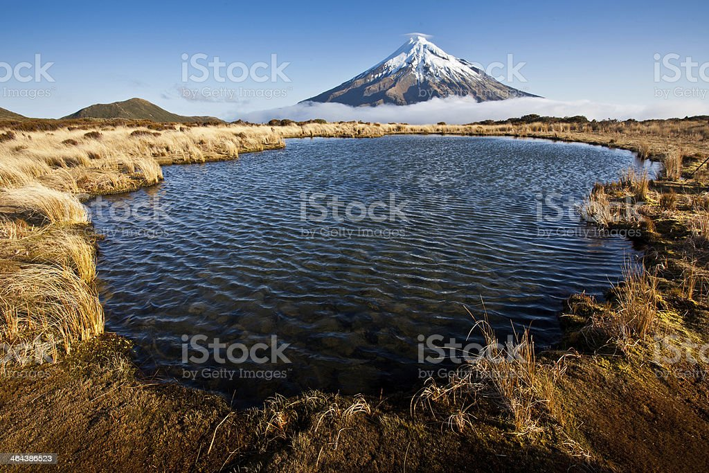 New Zealand landscape stock photo
