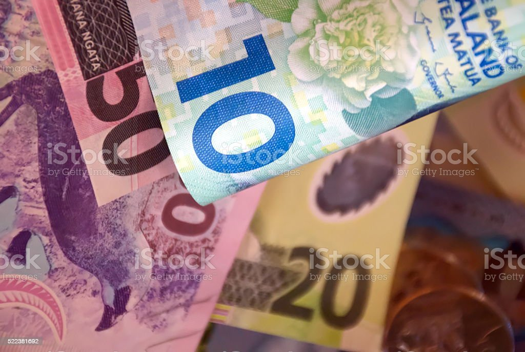 New Zealand Money (NZD) stock photo