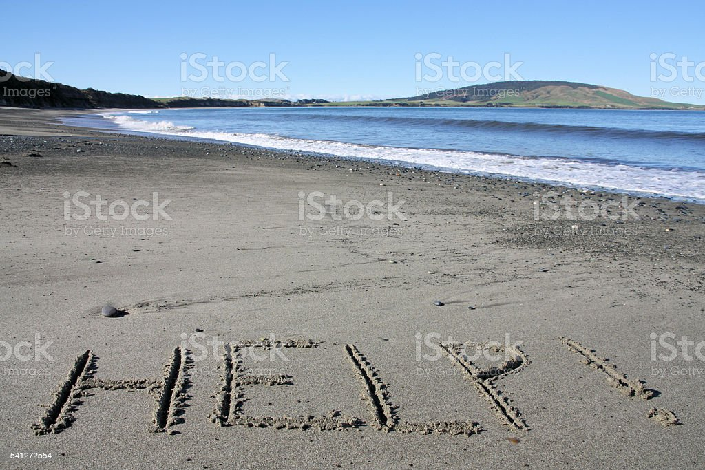 New Zealand stock photo