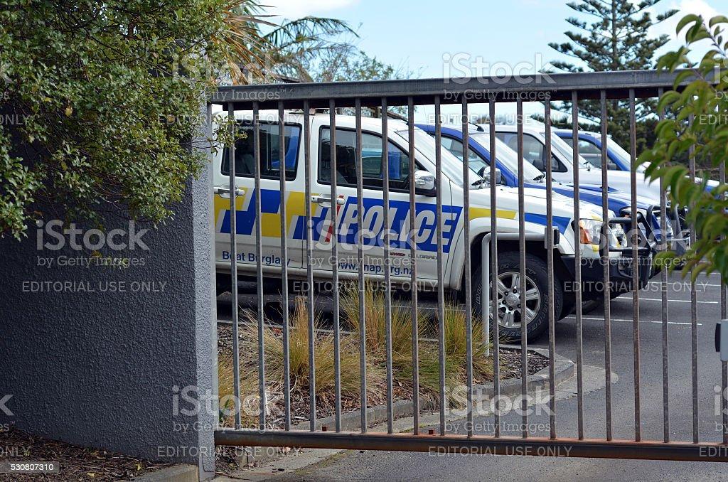 New Zealand Police stock photo
