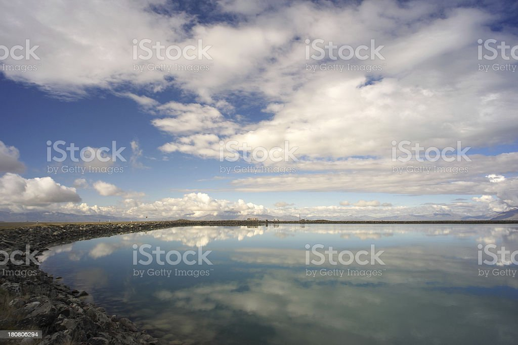 New Zealand Reflections royalty-free stock photo