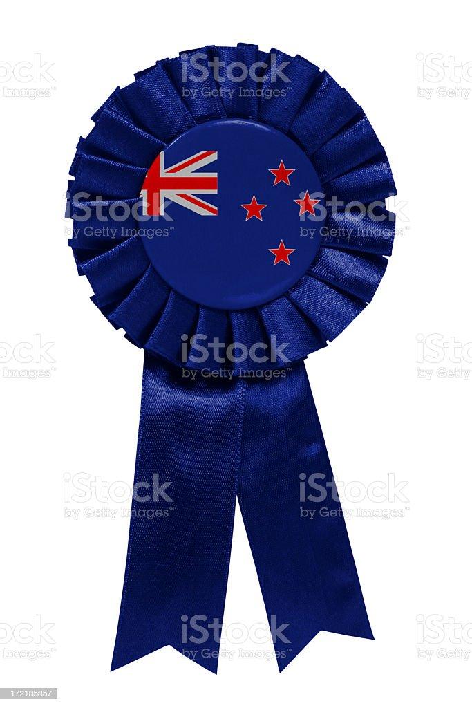 New Zealand  ribbon stock photo