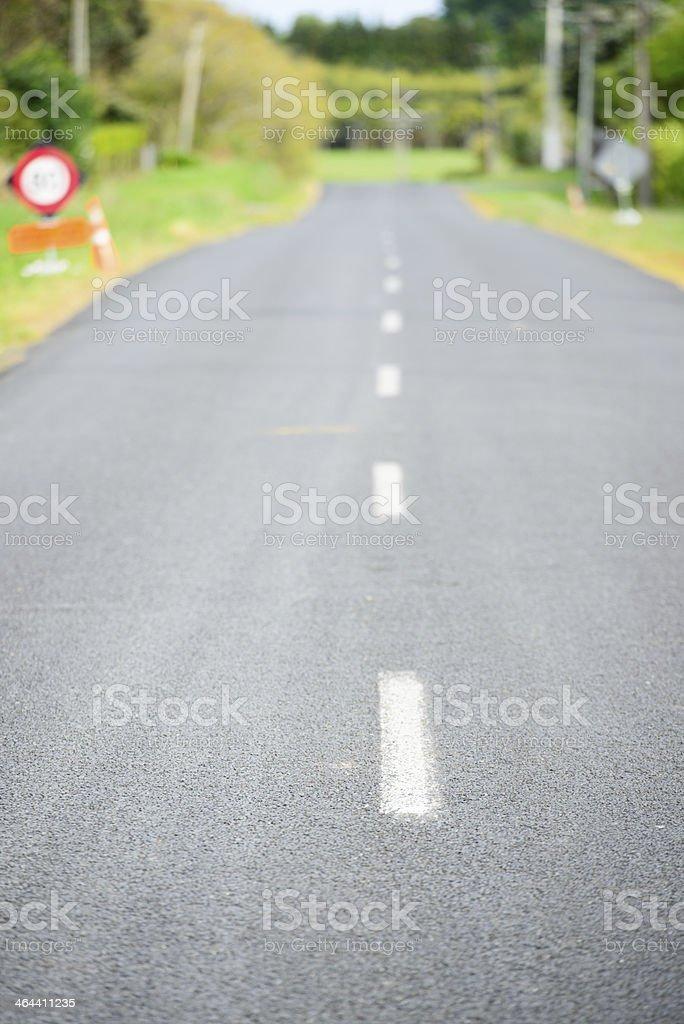 New Zealand Road stock photo