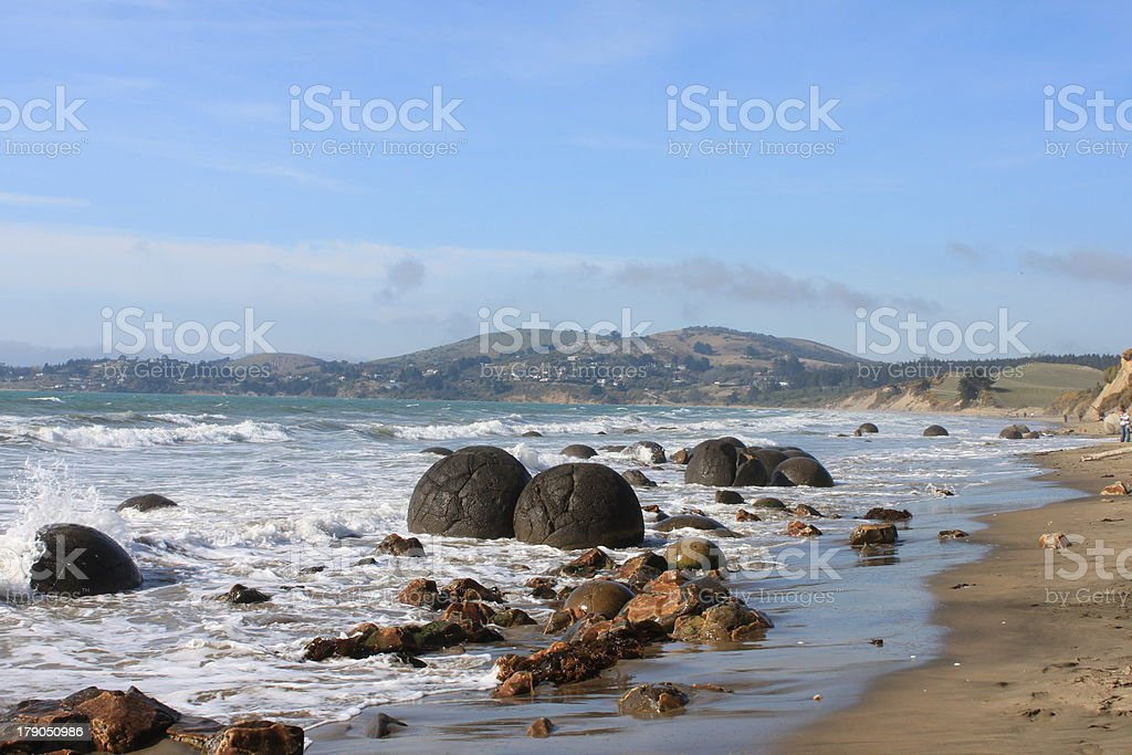 New Zealand Rocks stock photo