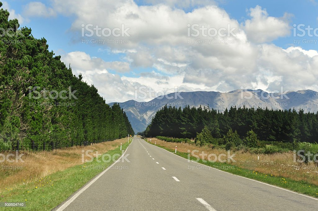 New Zealand South Island stock photo