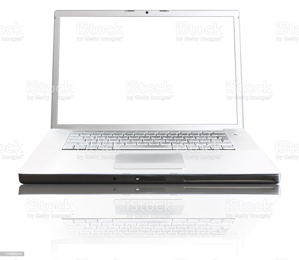 New-Age Laptop stock photo