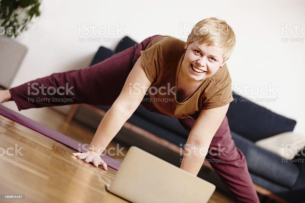 Newage yogi royalty-free stock photo