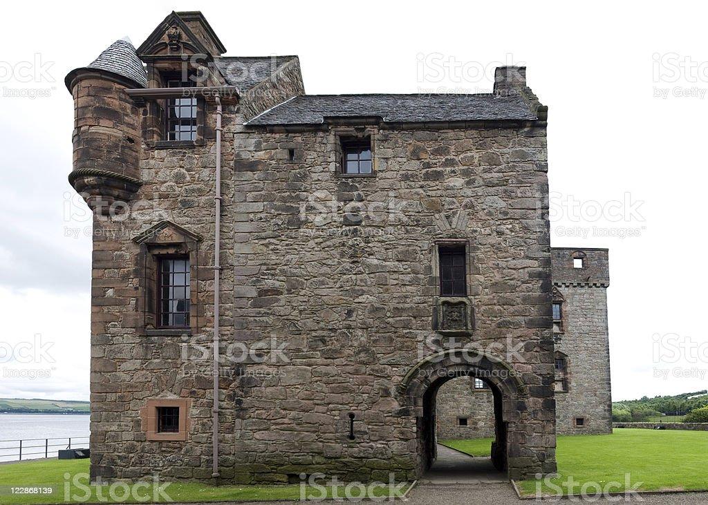 Newark Castle Gatehouse royalty-free stock photo
