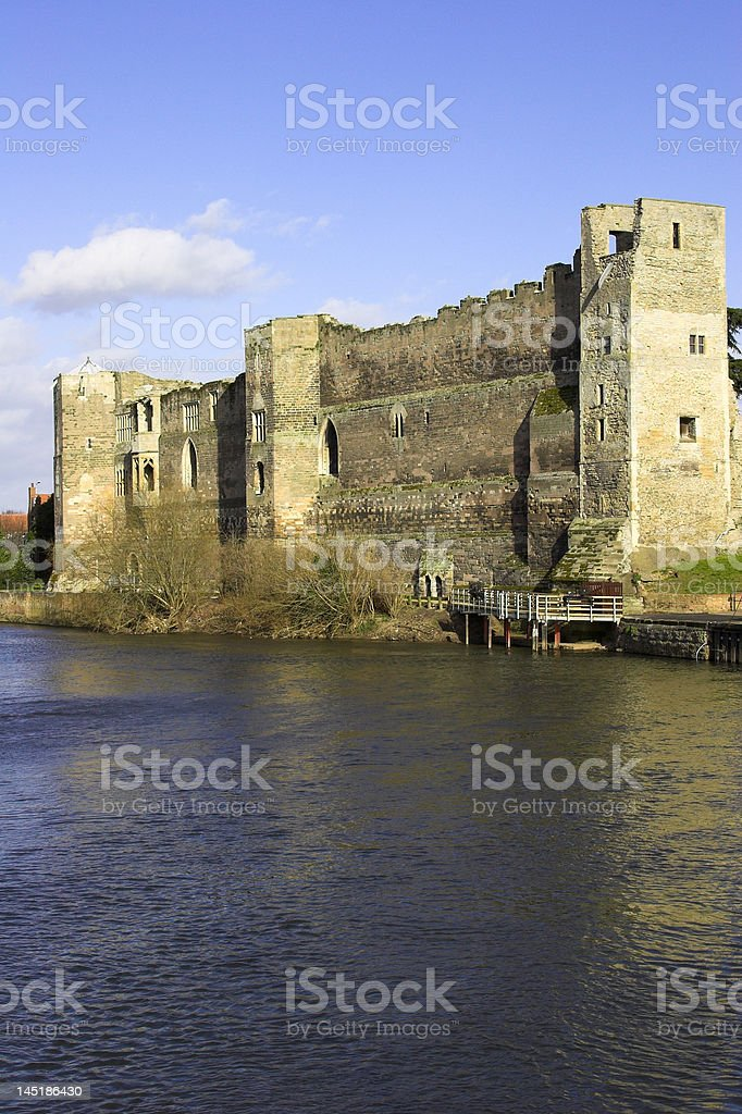 Newark Castle, Nottinghamshire, England stock photo
