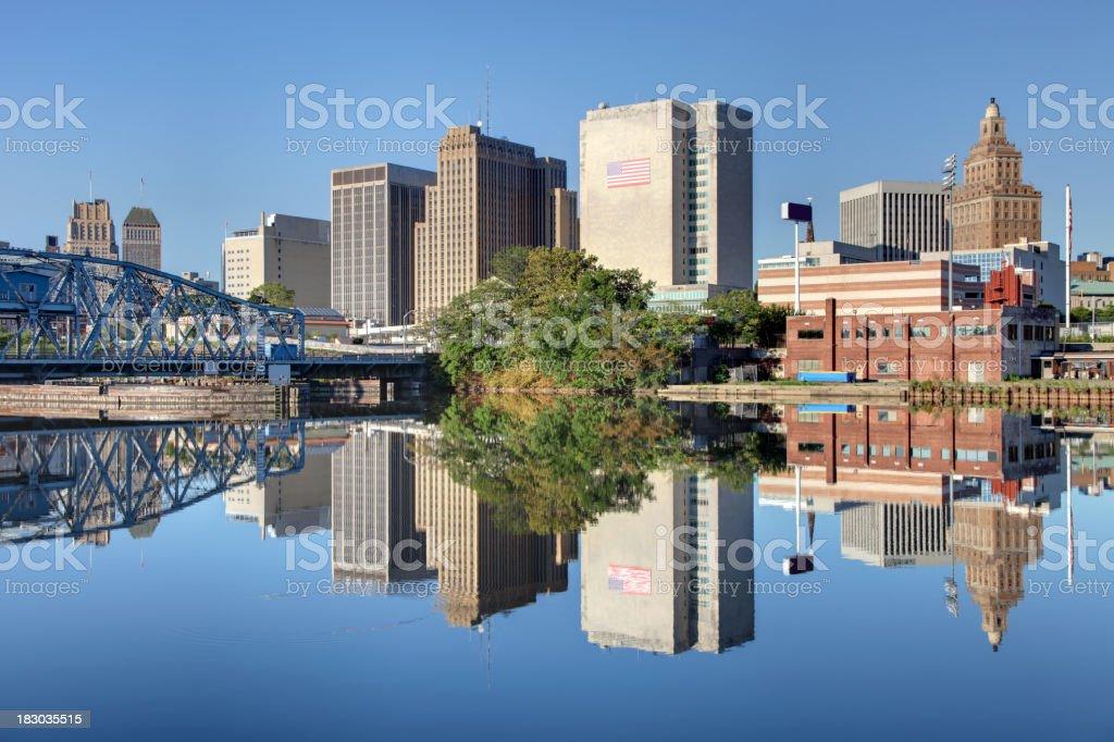 Newark New Jersey royalty-free stock photo