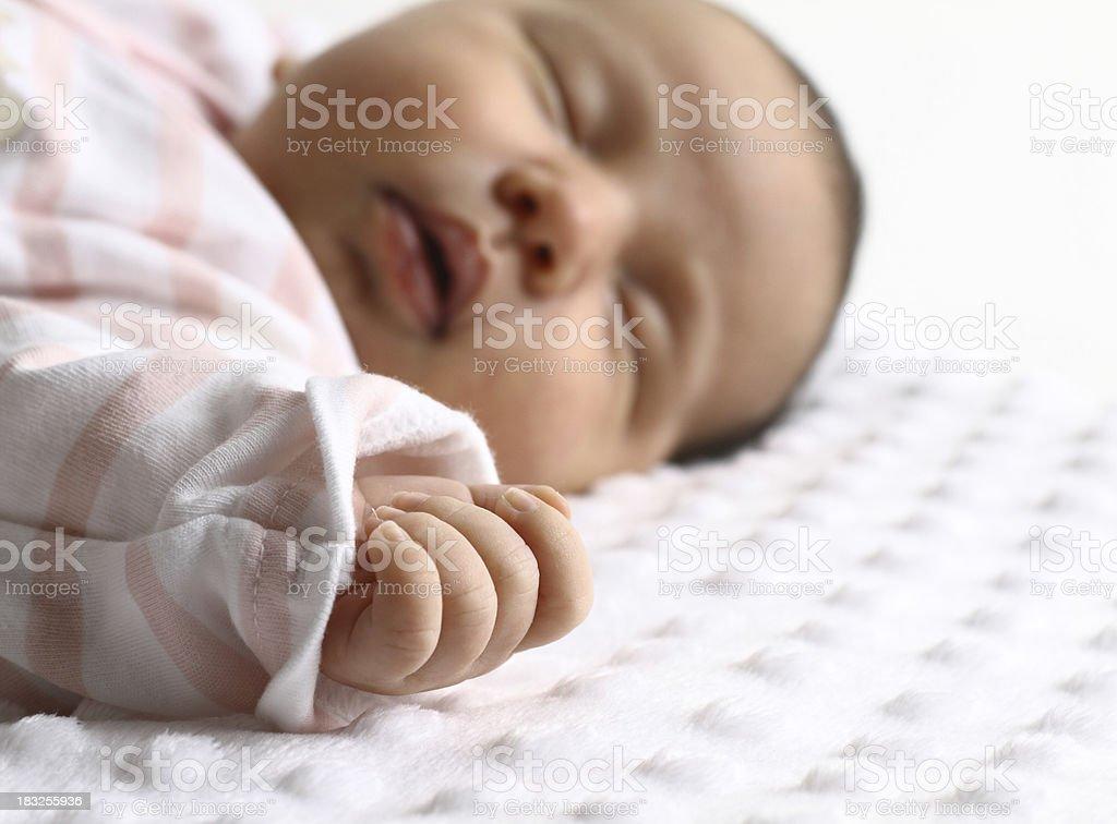 Newborn Baby Hand royalty-free stock photo