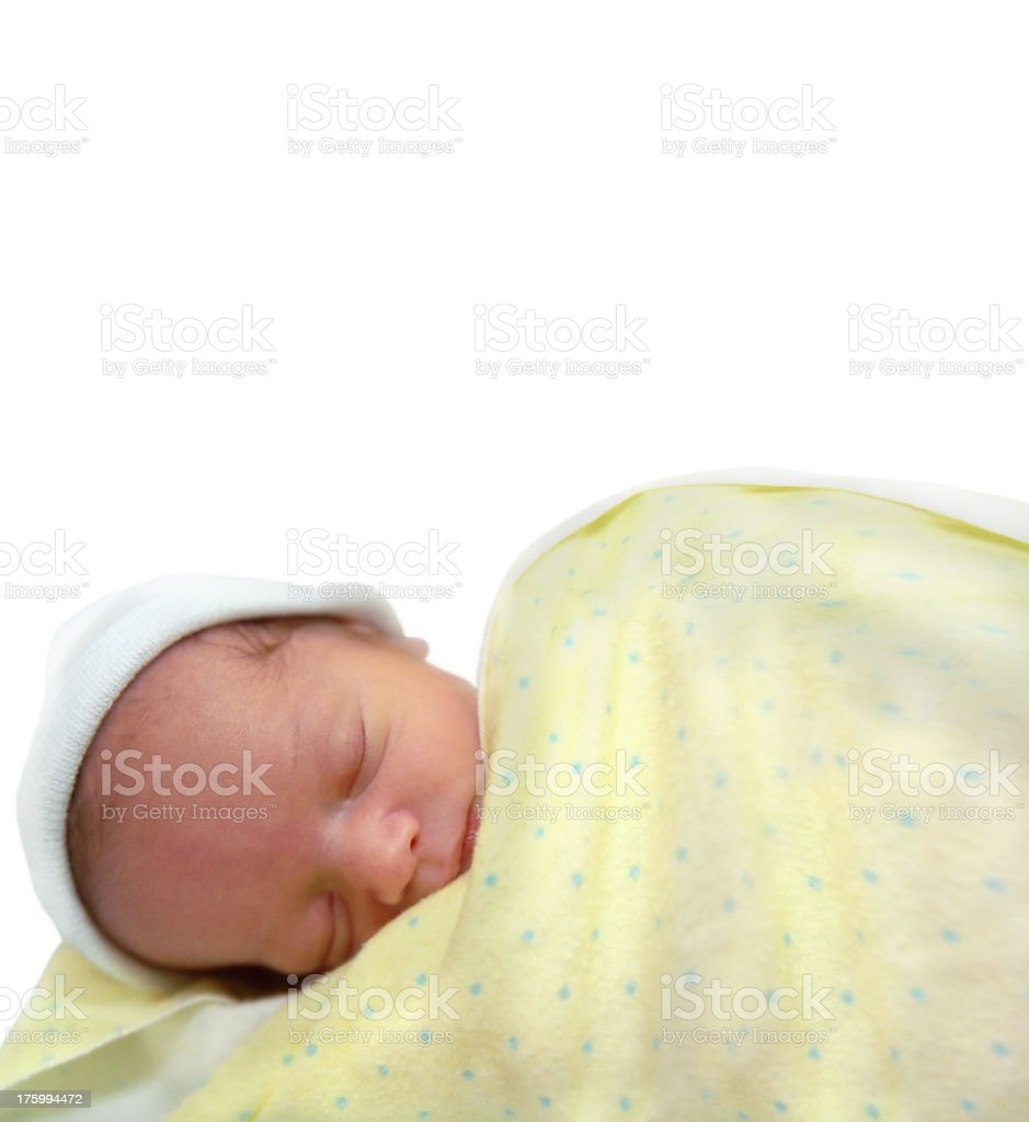 newborn baby royalty-free stock photo