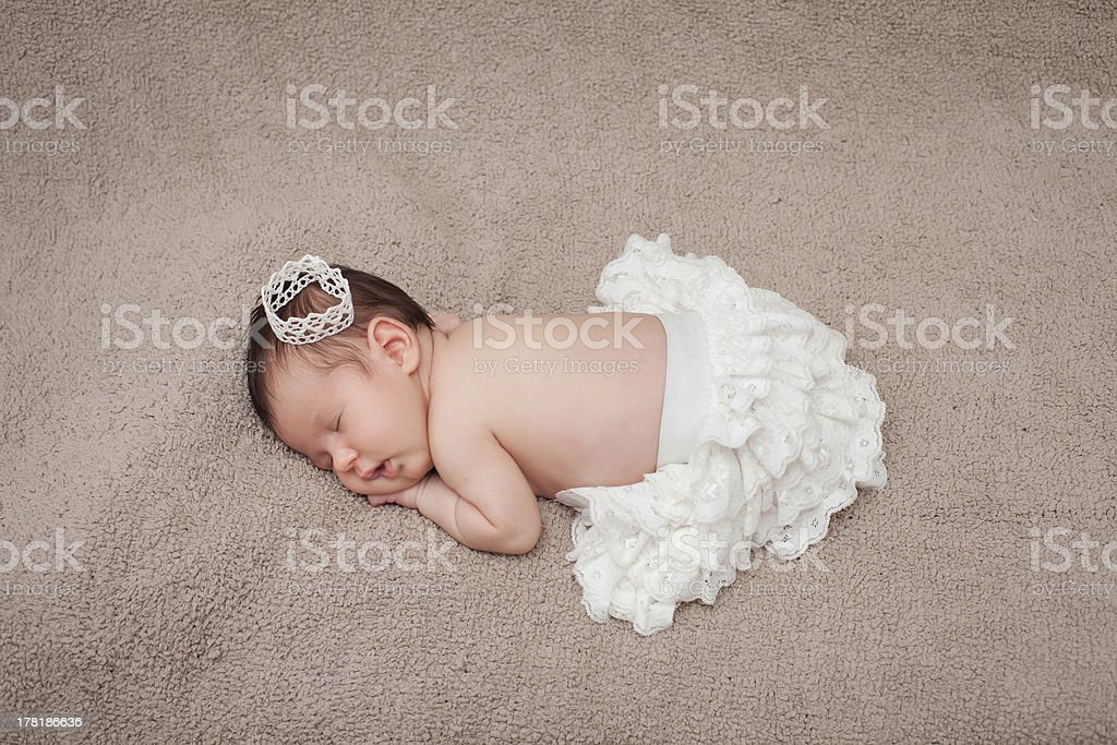 Newborn baby. royalty-free stock photo