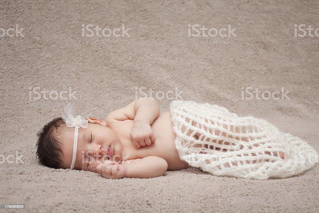 Newborn baby. royalty-free stock photo