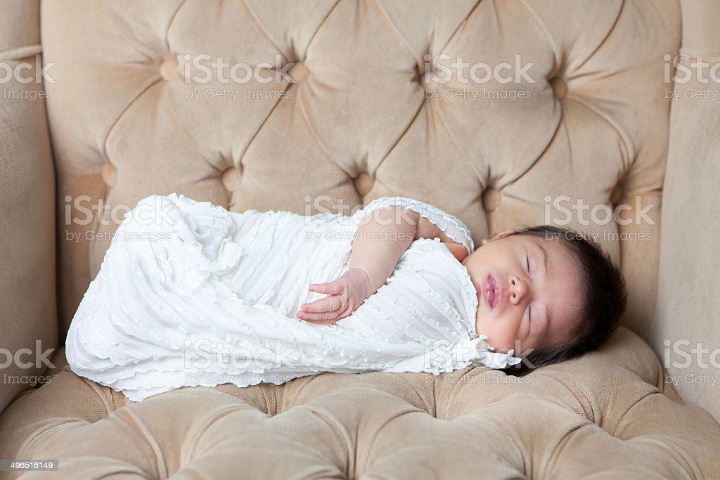 Neugeborenes Baby Schlafen – Foto