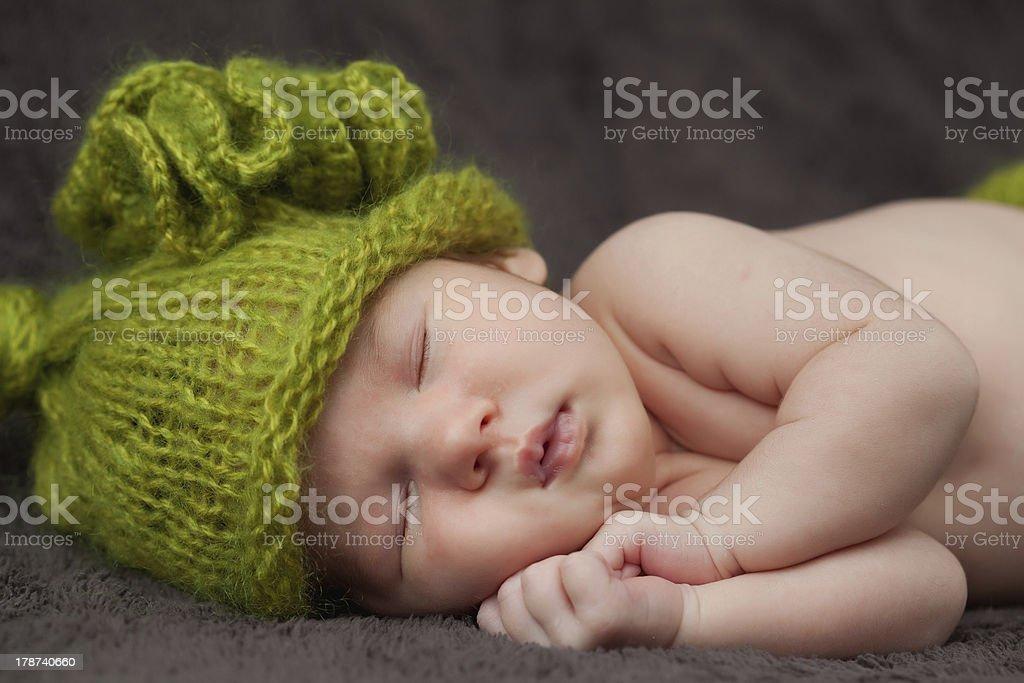 Newborn bany royalty-free stock photo