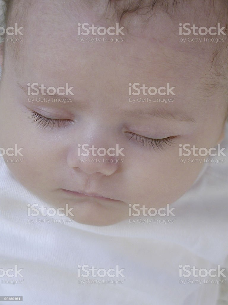 Newborn Child royalty-free stock photo