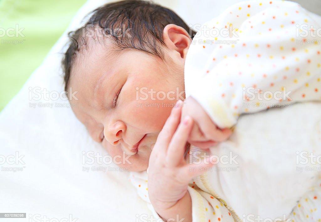Newborn stock photo