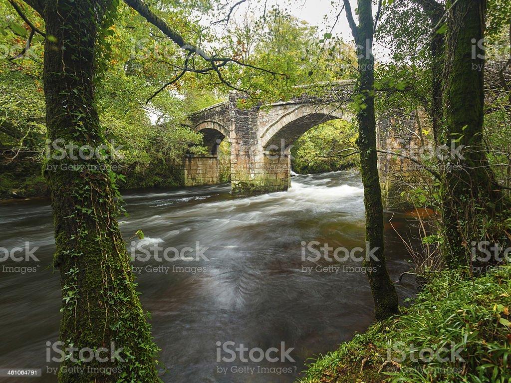 Newbridge Dartmoor Devon stock photo