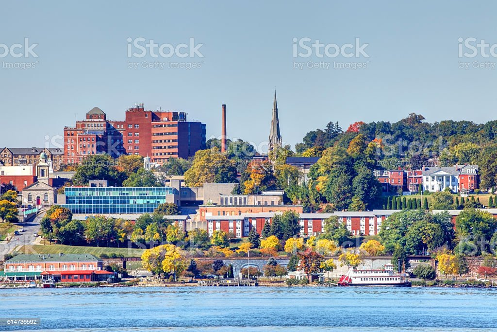 Newburgh, New York stock photo