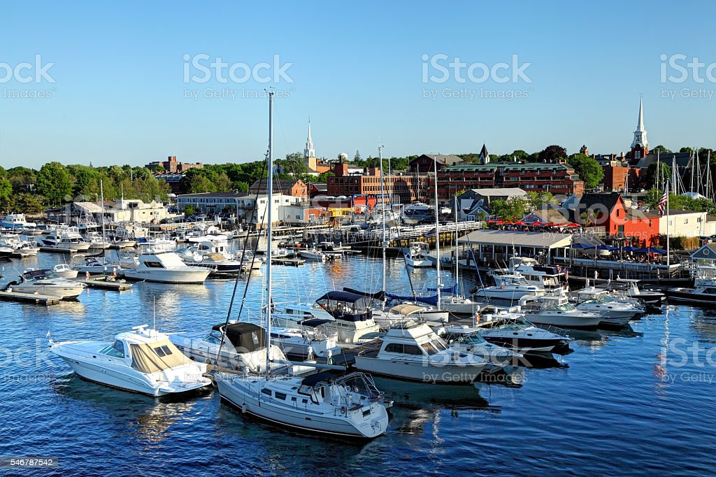Newburyport, Massachusetts stock photo