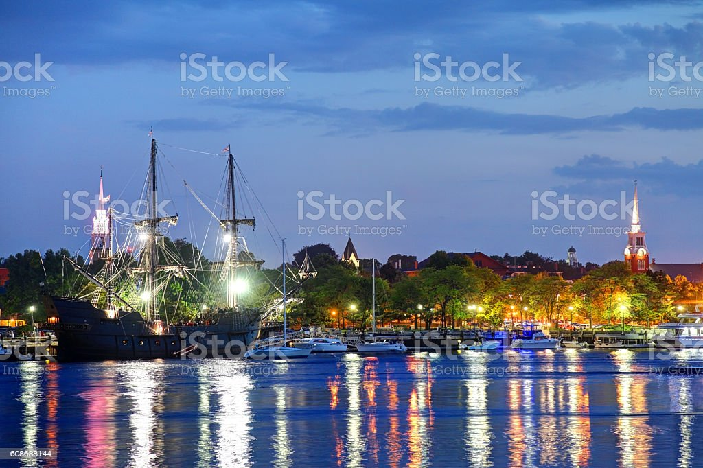 Newburyport Massachusetts stock photo