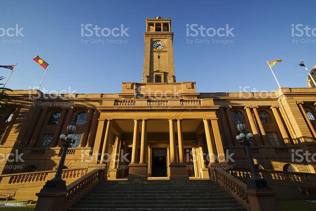 Newcastle City Hall stock photo
