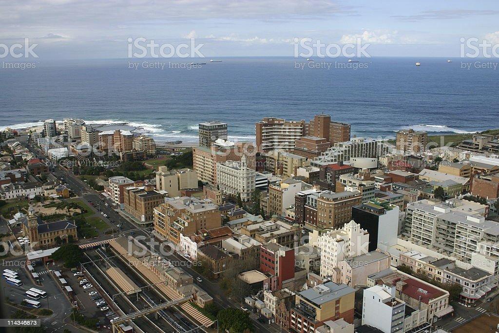 Newcastle City stock photo
