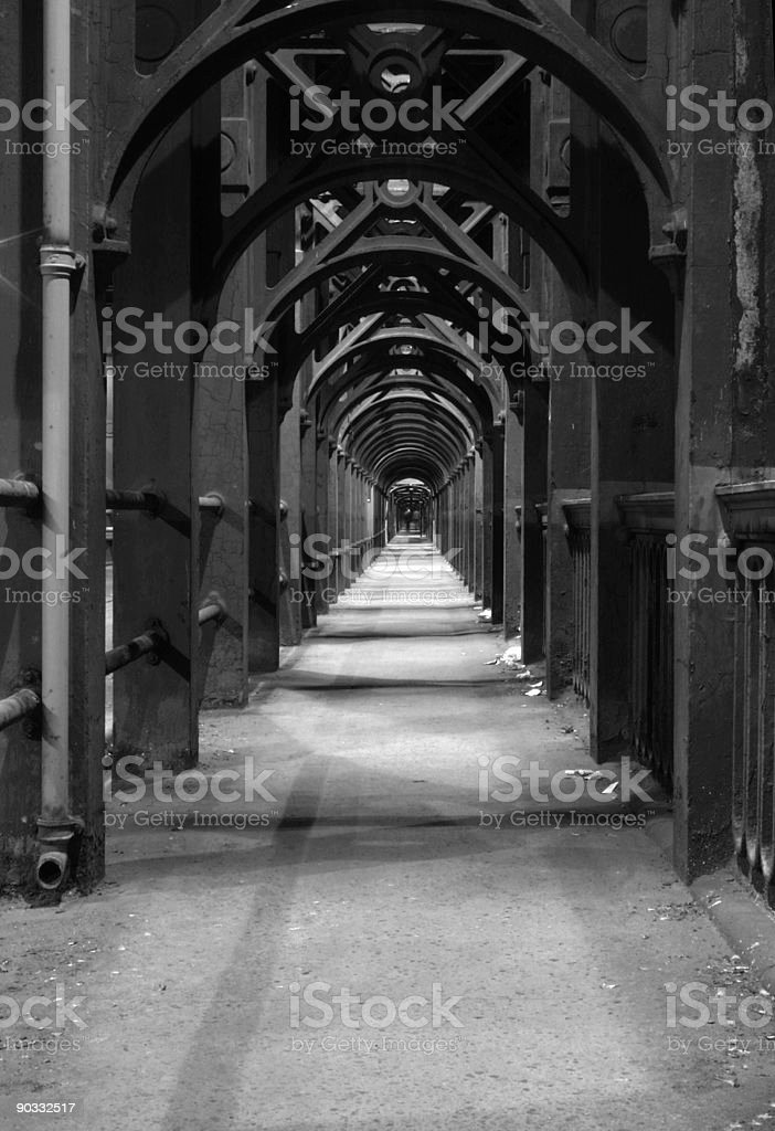 Newcastle High level bridge stock photo