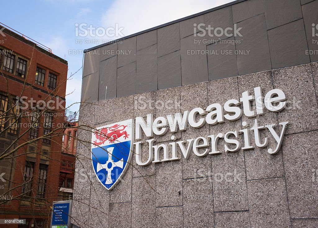 Newcastle University stock photo