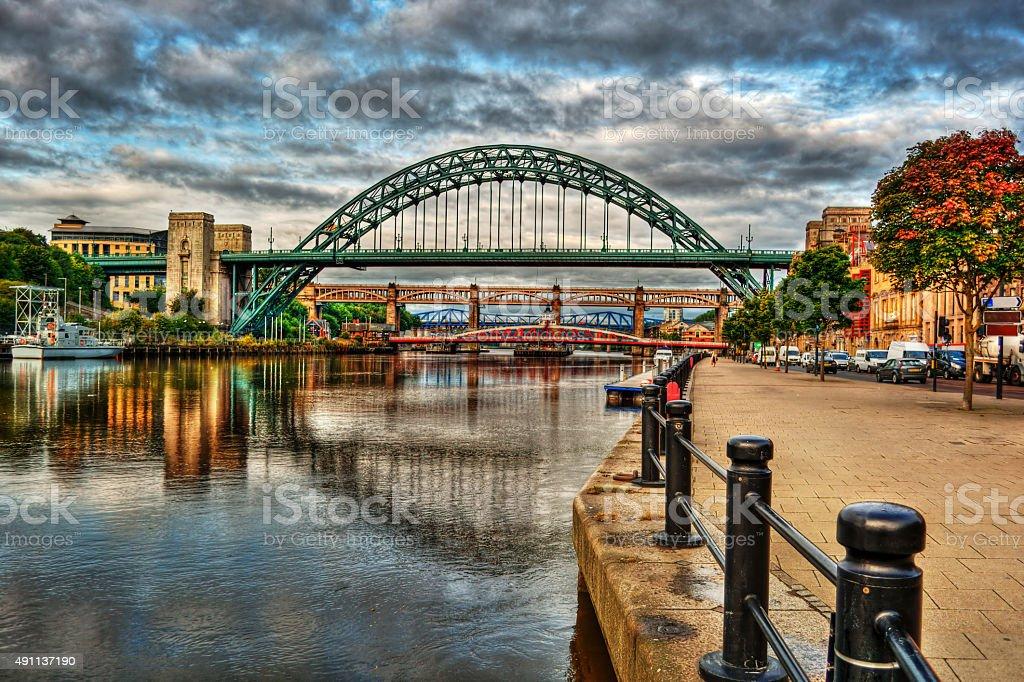 Newcastle upon Tyne HDR stock photo