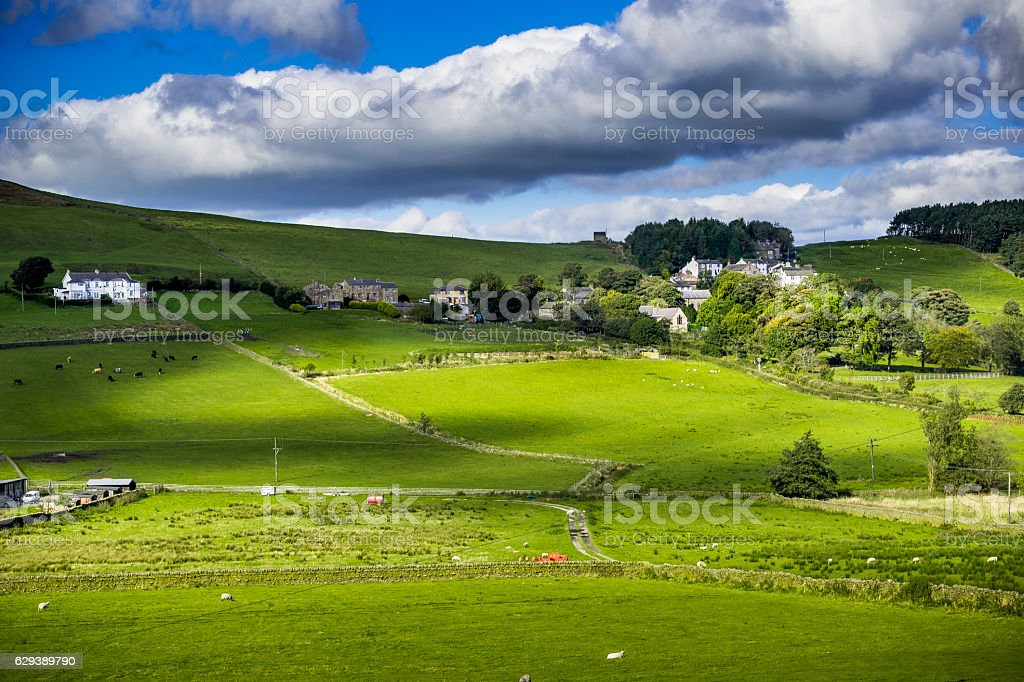 Newchurch In Pendle stock photo