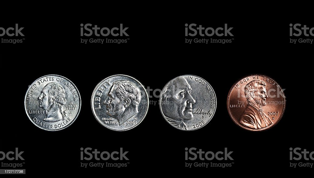newer american coin design royalty-free stock photo